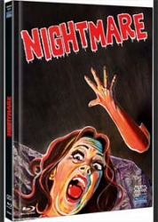 NIGHTMARE - Cover B - (Blu-Ray+DVD) (2Discs) - Mediabook - Limited 333 Edition