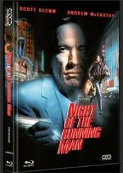 NIGHT OF THE RUNNING MAN (Blu-Ray+DVD) (2Discs) - Cover B - Mediabook - Uncut - Limited 333 Edition