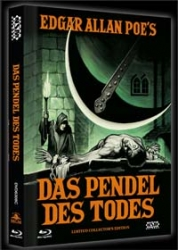 DAS PENDEL DES TODES (Blu-Ray+DVD) (2Discs) - Cover C - Mediabook - Uncut - Limited 666 Edition