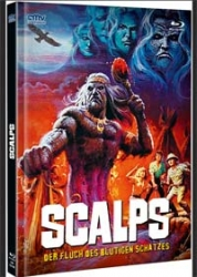 SCALPS (Blu-Ray+DVD) (2Discs) - Cover A - Mediabook - Limited 333 Edition