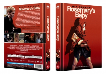 Rosemarys Baby - 2-Disc Limited Collectors Mediabook 400 Edition - Cover C