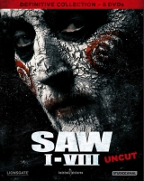 SAW 1-8 - Definitive Collection (8DVD) - Digipak - Uncut...